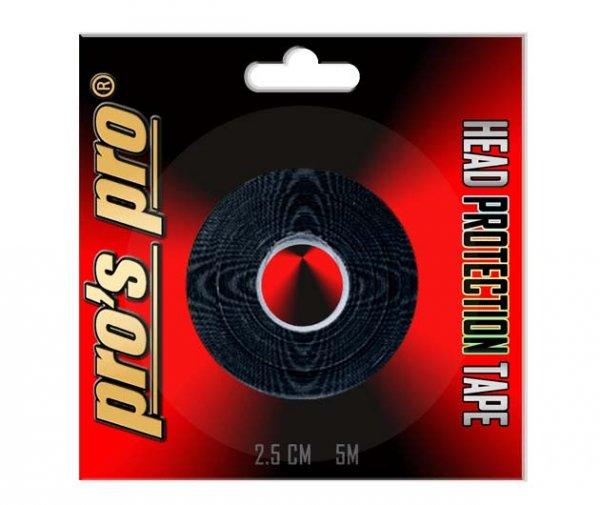 Pro's Pro Kopfschutzband schwarz 5m 2,5cm