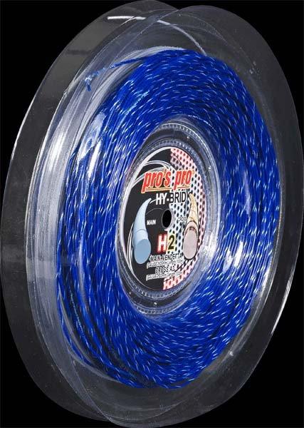 Pro's Pro Hybridsaite 200 m Hy-Brid H 2 Vendetta 1,25 mm silber A 2 blau-silber 1,30 mm
