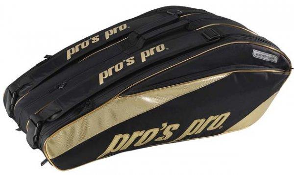 Pro's Pro 12-Racketbag Gold