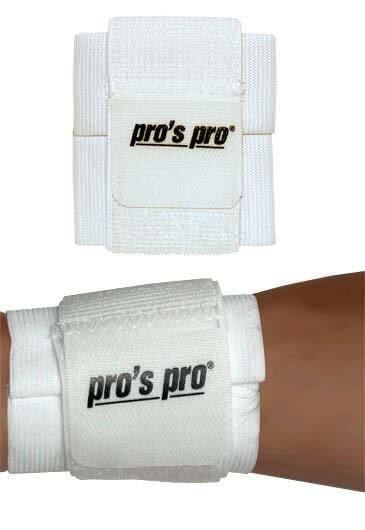 Pro's Pro Handgelenkstütze weiß Klettverschluss