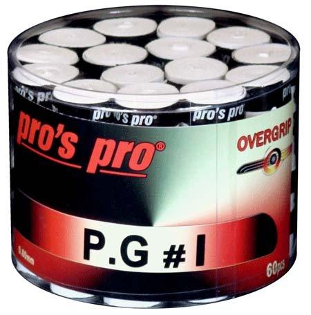 Pro's Pro Overgrips 60er box P.G.1 0,60 mm weiss perforiert