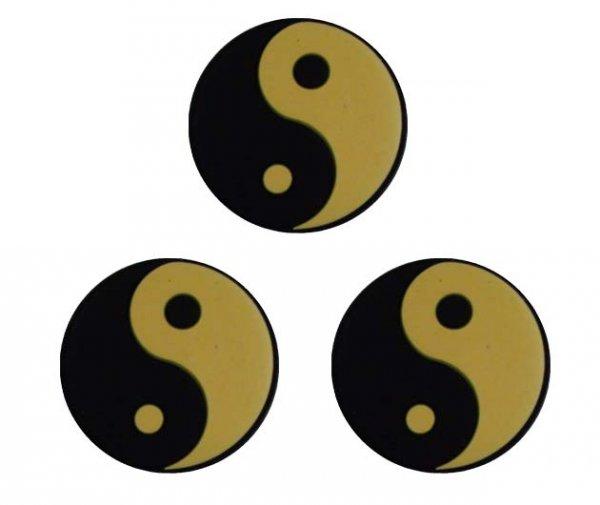 Pro's Pro Vibrationsdämpfer Tai Chi Damper schwarz-gelb 3er