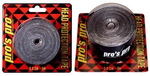 Pro's Pro Kopfschutzband schwarz 5m 3cm