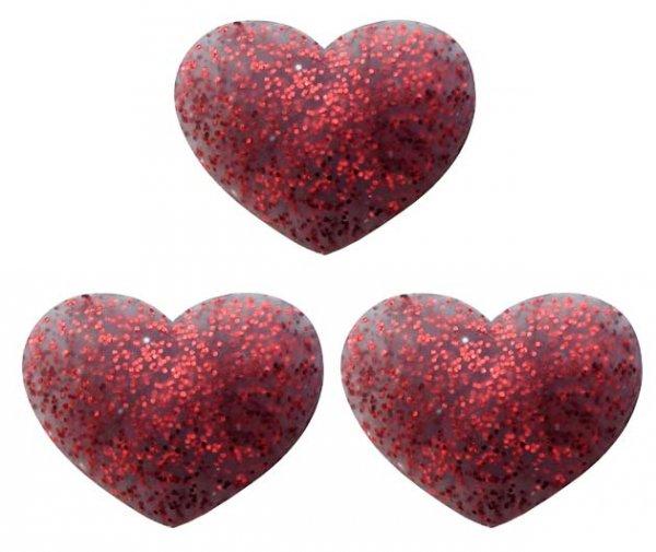 Pro's Pro Vibrationsdämpfer Twinkle Heart rot 3er