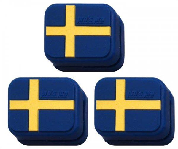Pro's Pro Vibrationsdämpfer Vibra Stop Schweden 3er eckig