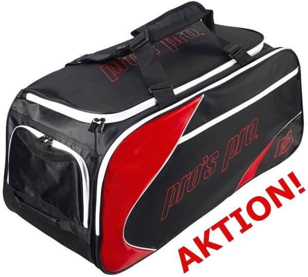 Pro's Pro Tennistasche schwarz-rot AKTION