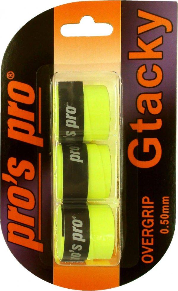 Pro's Pro Gtacky Griffband 0,5 mm Saugfaehig Vibrationsdaempfend 3er lime