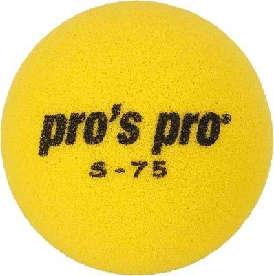 Pro's Pro Kinder Tennisball Schaumstoff S-75 gelb 90mm