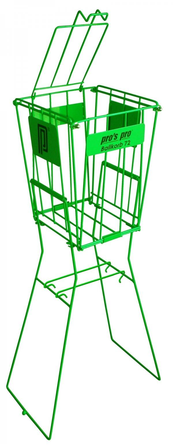 Pros Pro Ballkorb 72 grün