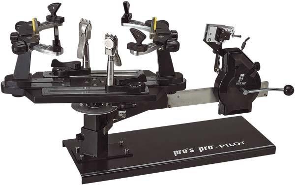 Pro's Pro Bespannmaschine Pilot Kurbelzug schwarz