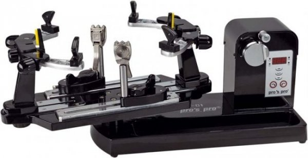 Pro's Pro Besaitungsmaschine Electronic SX-01 schwarz Nachregelautomatik