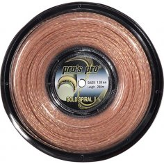 Pro's Pro Tennissaite 200 m Synthetik Gold Spiral I rose gold-spiral 1,30 mm