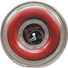 Pro's Pro Tennissaite 200 m Polyester Cyber Power rot 1,30 mm
