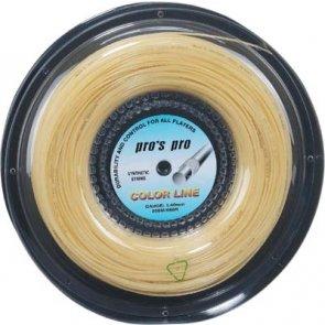Pro's Pro Tennissaite 200 m Synthetik Color Line weiss1,40 mm