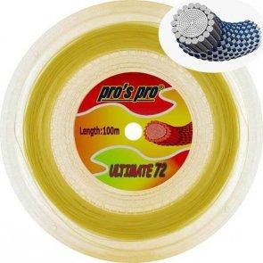 Pro's Pro Ultimate 72 100 m Badmintonsaite natur 0,73 mm