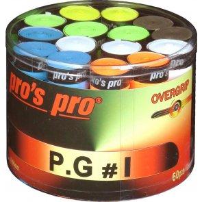 Pro's Pro Overgrips 60er P.G.1 0,60 mm sortiert perforiert
