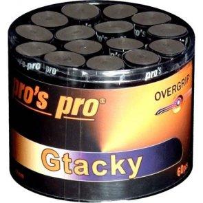 Pro's Pro Overgrips 60er Gtacky 0,50 mm schwarz klebrig