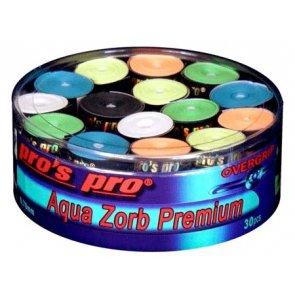 Pro's Pro Overgrips 30er Box Aqua Zorb Premium 0,70 mm sortiert trocken