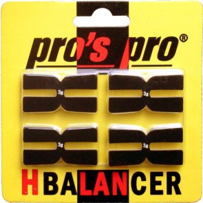 Pro's Pro H-Balancer 4er schwarz à 3 g Gewichtsband