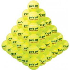 Pro´s Pro Tennisbälle Championship 60er gelb drucklos