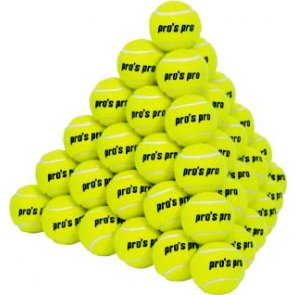 Pros Pro Tennisbälle PRACTICE 60er drucklos