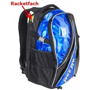 Pro's Pro Rucksack blau-metallic