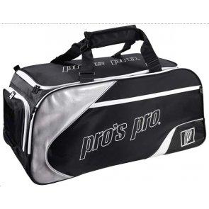 Pro's Pro Tennistasche schwarz-silber