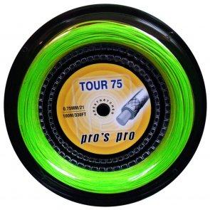 Pro's Pro Tour 75  100 m neon-grün Badmintonsaite