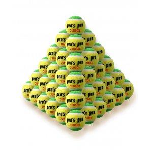 Pros Pro Tennisbälle Junior gelb/grün 60er