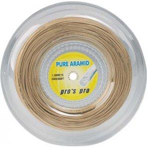 Pro's Pro Tennissaite 200 m multifil Pure Aramid 1,30 mm Spezialsaite reißfest