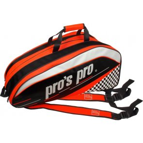 pros pro 12-Racketbag orange