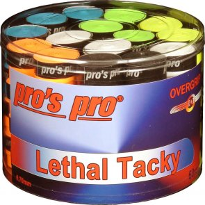 Pro's Pro Lethal Tacky Griffband Strukturiert 0,7 mm 60er Box sortiert