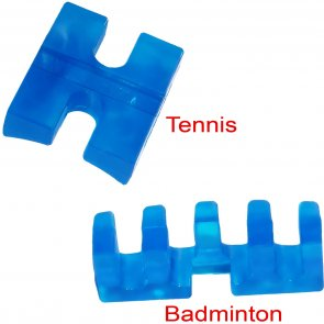 Tennis- & Badmintonadapter blau