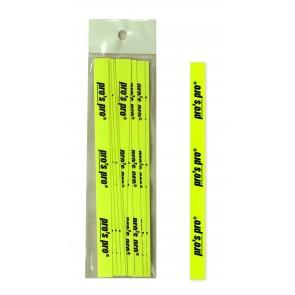 Pro's Pro Griffabschlussband 10er neon-gelb