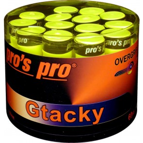 Pro's Pro Gtacky Griffband 0,5 mm Saugfaehig Vibrationsdaempfend 60er lime