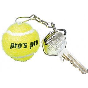 Pro's Pro Schlüsselanhänger Tennisball gelb Filz