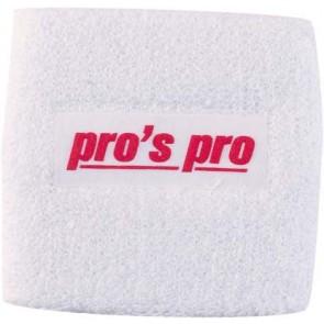 Pro's Pro Schweißband Standard weiss