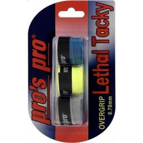 Pro's Pro Lethal Tacky Griffband strukturiert 0,7 mm 3er tricolor