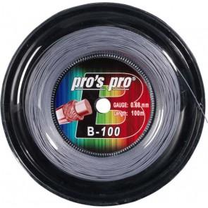 Pro's Pro B-100 100 m silber Badmintonsaite 0,68 mm