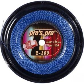 Pro's Pro B-300 100 m blau/cross Badmintonsaite 0,70 mm