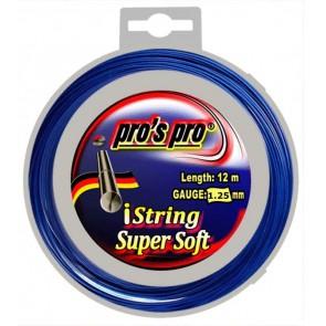Pro's Pro Deutsche Polyestersaite iString Super Soft 12 m signalblau 1,25 mm