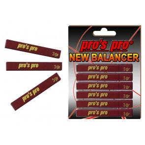 Pro's Pro NEW Balancer 6er rot 3-g-Plättchen Kunststoff