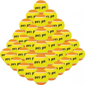 Pro's Pro Beach Tennis Ball 60er gelb / orange