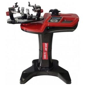 Pro's Pro Bespannmaschine Electronic V-600 inkl. Standfuss lineares Zugsystem