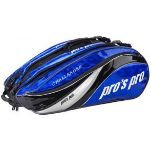 Pro's Pro 12-Racketbag Challenger blau Tasche