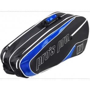 Pro's Pro 8-Racketbag schwarz-blau