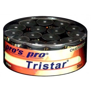 Pro's Pro Overgrips Tristar 0,70mm 30er schwarz