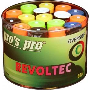 ***Pro's Pro Overgrips 60er Box Revoltec Grip 0,60 mm sortiert klebrig