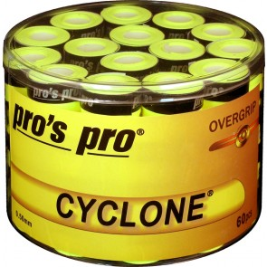 Pro's Pro Overgrips Cyclone Grip 0,50mm 60er lime