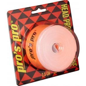 Pro's Pro Kopfschutzband 2,5cm 5m neon-orange
